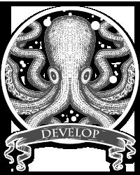 Develop your website badge