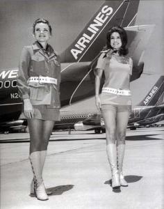 1970s Southwest Stewardesses