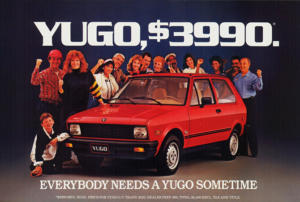 Yugo Advertisement