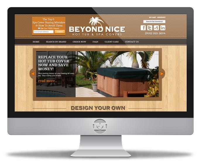Beyond Nice - Website by MIND