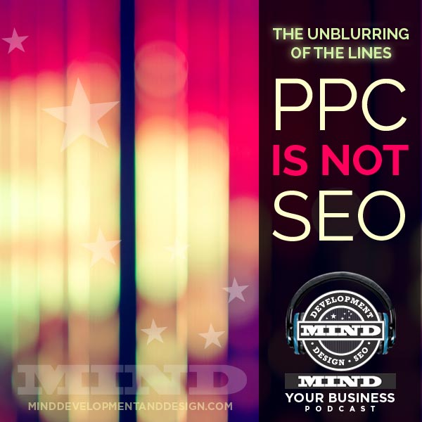 seo is not ppc