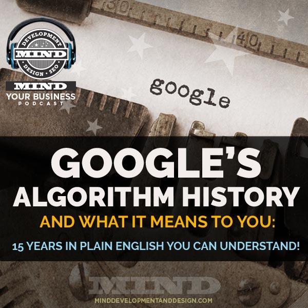 Google algorithm history