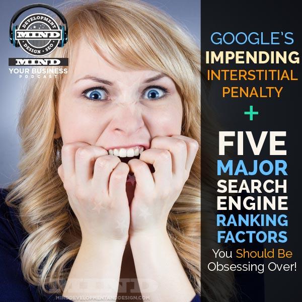 Five major search engine factors