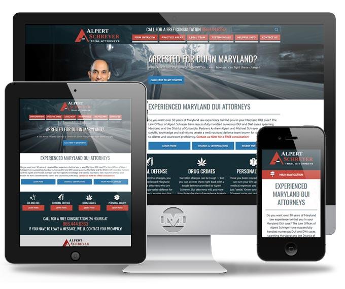 Alpert Schreyer - Website by MIND