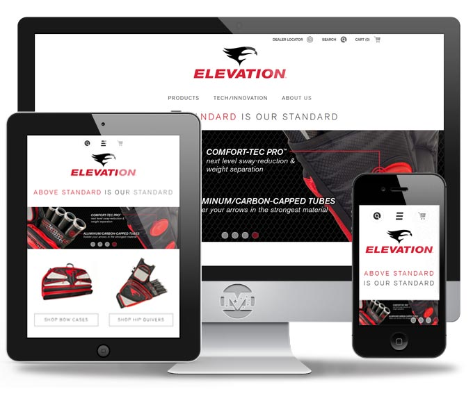 Elevation Equipped - Website by MIND