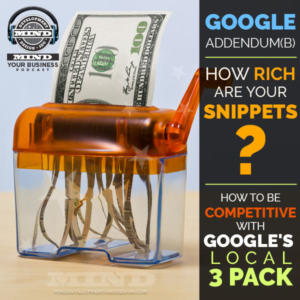 Google Local 3-Pack, Rich Snippets, RankBrain and What You Should Know