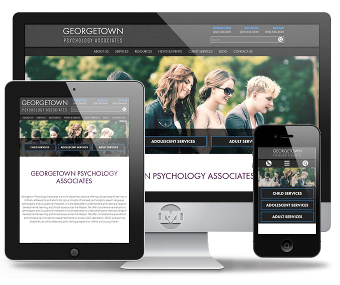 Georgwtown Psychology - Website by MIND