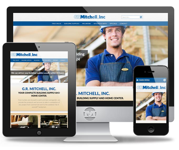 G.R. Mitchell, Inc. - Website by MIND