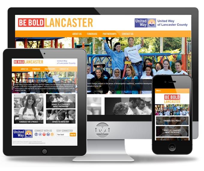 Be Bold Lancaster - Website by MIND