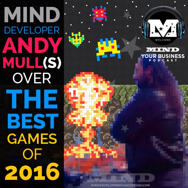 80's video game scene with Andy Mull