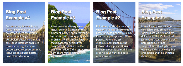 display recent blog posts examples
