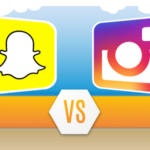 instagram vs snapchat