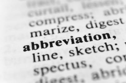 Abbreviation tag