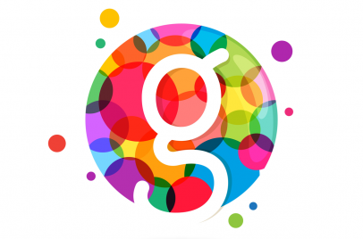 Logo with multiple colors