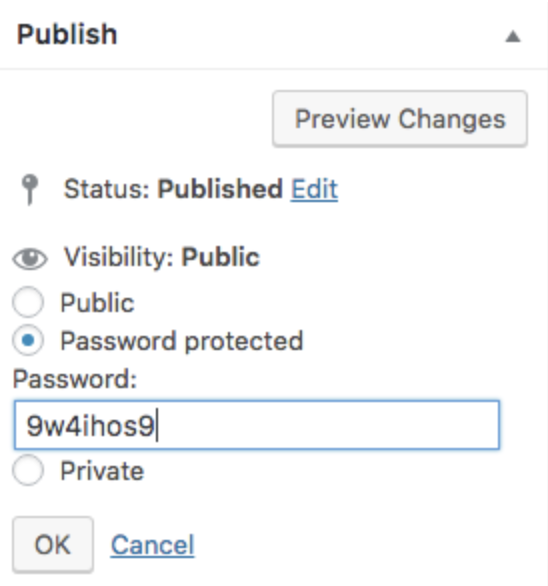 Guide to WordPress Password Protected Pages and Cookie Detection