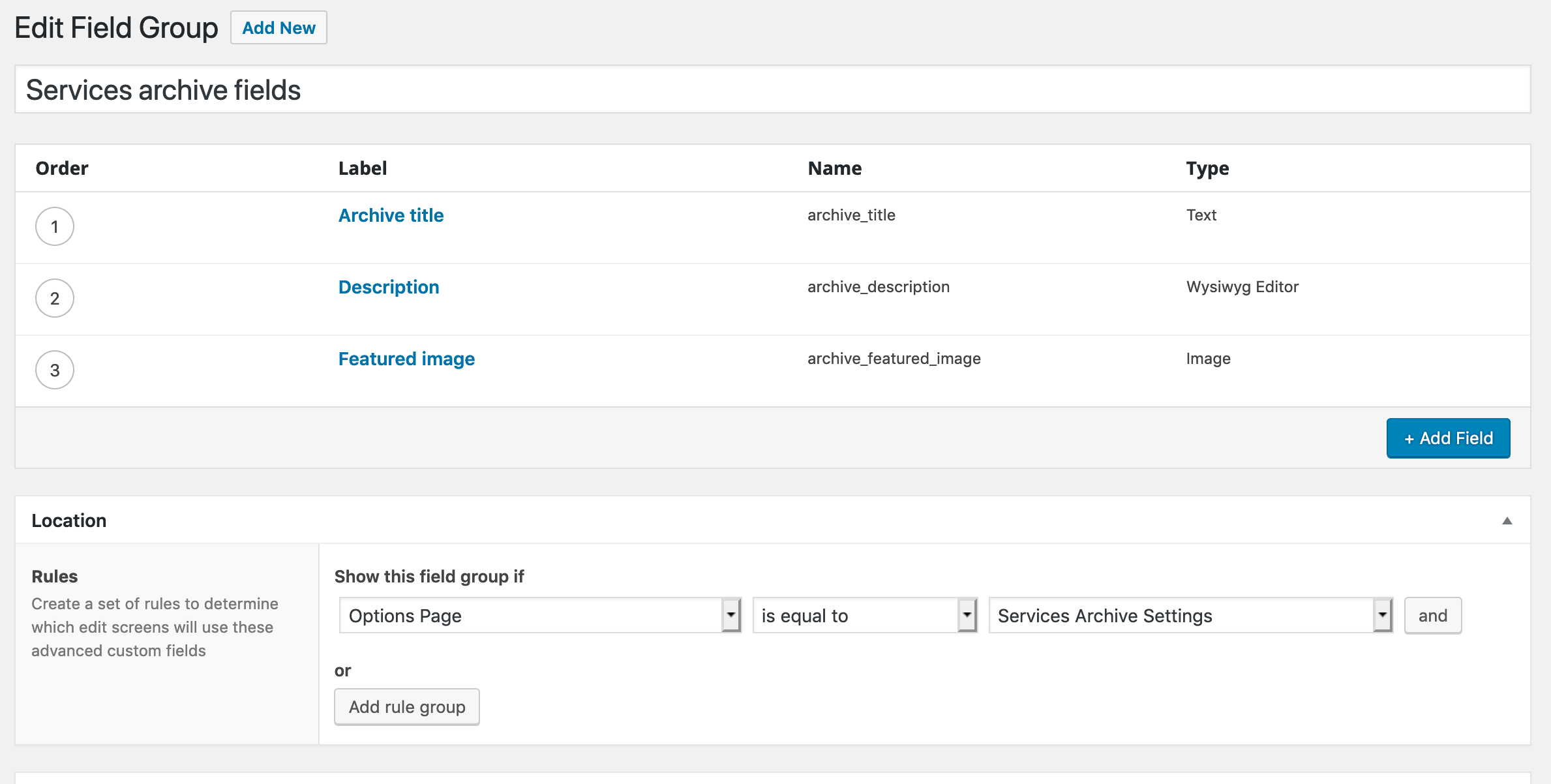 How to Add a Custom Title & Description to Archive Pages