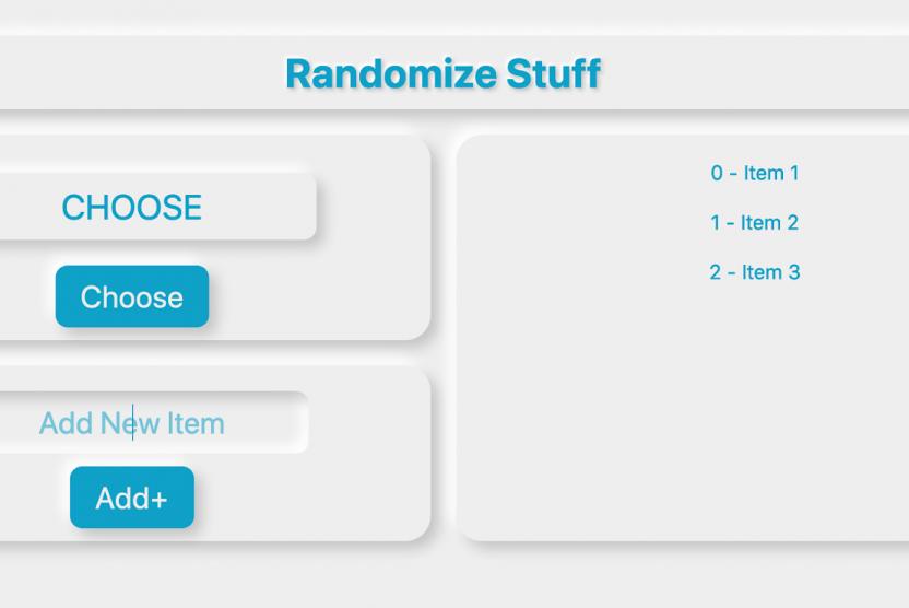 styled svelte randomizer