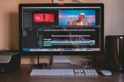a video editing program